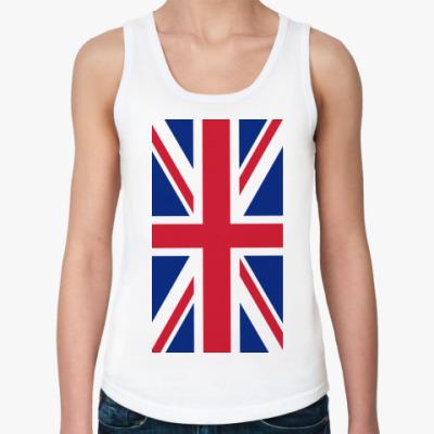 Женская майка Флаг Великобритании