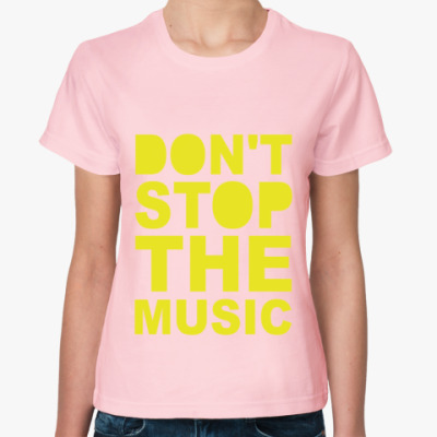 Женская футболка DSTM