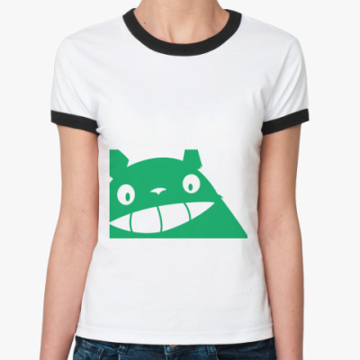 Женская футболка Ringer-T Тоторо