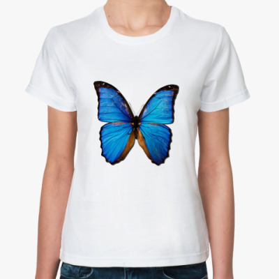 Классическая футболка Бабочка BLUE