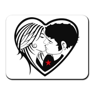 Коврик для мыши Kiss Forever