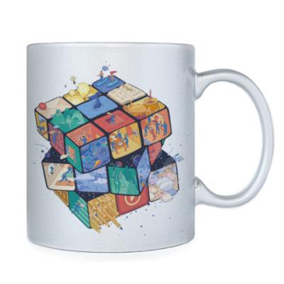 Кружка Кубик Рубика | Rubiks Cube