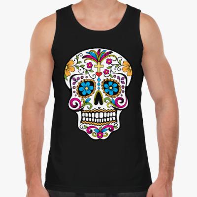 Майка Мексиканский череп Calavera