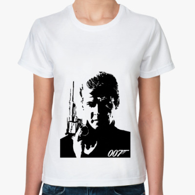 Классическая футболка Bond. James Bond