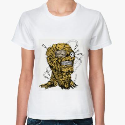 Классическая футболка  футболка Terminator