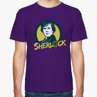 Футболка Sherlock Holmes