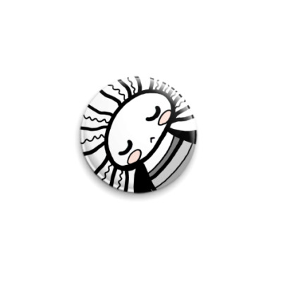 Значок 25мм  Спящий Ангел (25 мм)