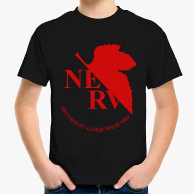 Детская футболка Neon Genesis Evangelion NERV