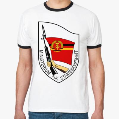 Футболка Ringer-T  Штази