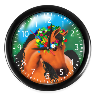 Часы Лошадка
