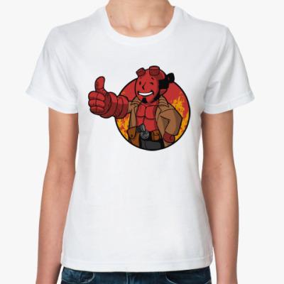Классическая футболка Хэллбой