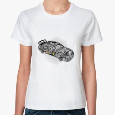 Классическая футболка   Subaru
