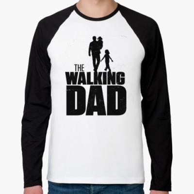 Футболка реглан с длинным рукавом The Walking Dad