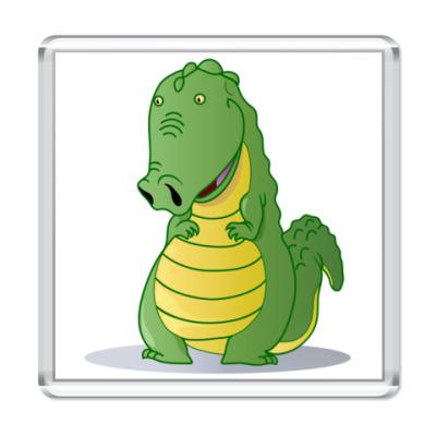 Магнит крокодильчик