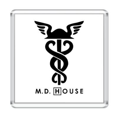 Магнит  m.d. House