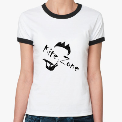 Женская футболка Ringer-T кайт зона