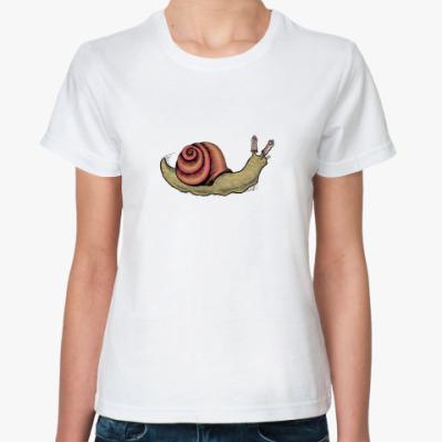 Классическая футболка SafeSexSnail