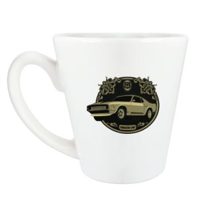 Чашка Латте Muscle car