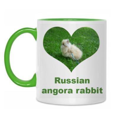 Кружка Russian angora rabbit