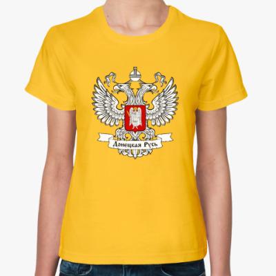 Женская футболка Донецкая народная республика