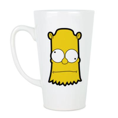 Чашка Латте Crazy Bart