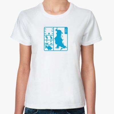 Классическая футболка СССР Модель для сборки