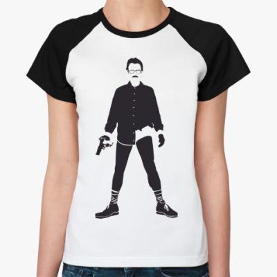 Женская футболка реглан Walter White