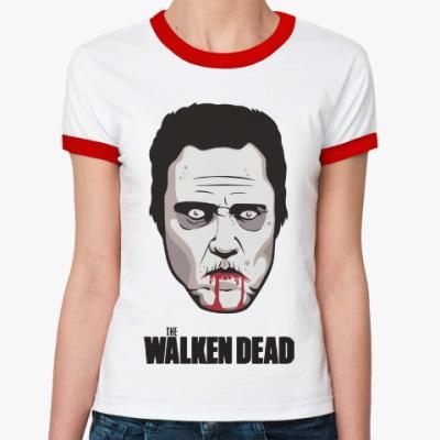 Женская футболка Ringer-T Walken Dead