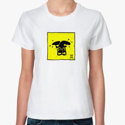 Классическая футболка Близнецы