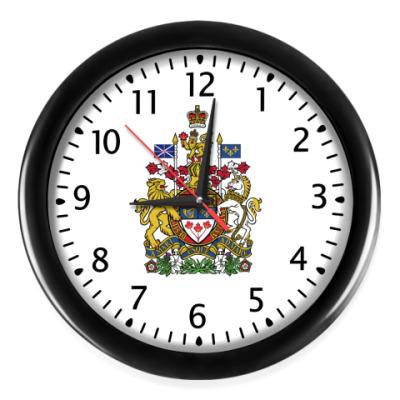 Настенные часы Герб Канады