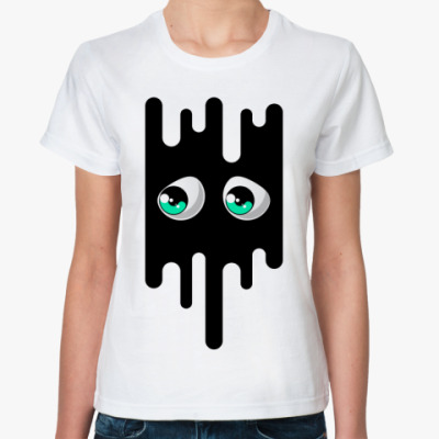 Классическая футболка Грустные глаза