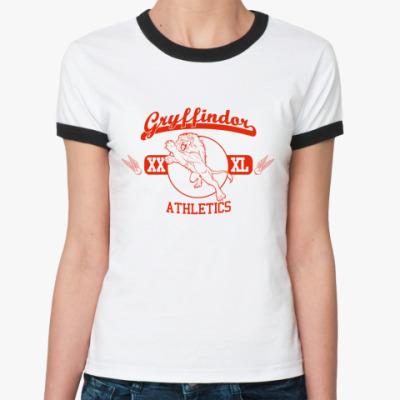 Женская футболка Ringer-T Gryffindor  Ж ()