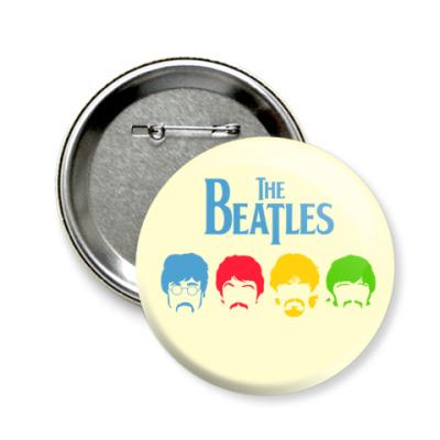 Значок 58мм Beatles