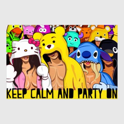 Постер Keep calm