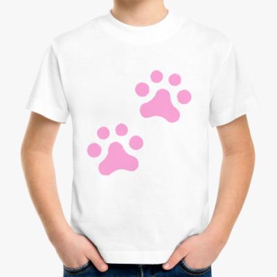 Детская футболка Лапки