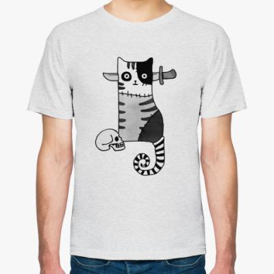 Футболка Зомби кот