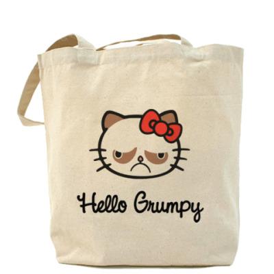 Сумка Hello Grumpy Cat