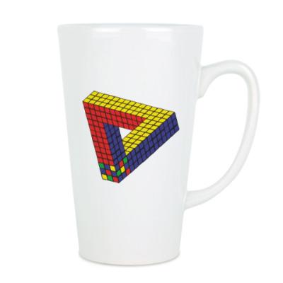 Оптическая иллюзия «Кубик Рубика»