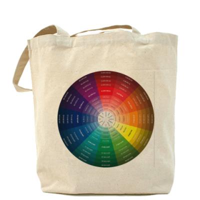 Сумка Цветовой круг CMYK