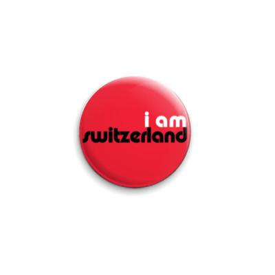 Значок 25мм  twilight switzerland