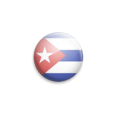 Значок 25мм  Cuba