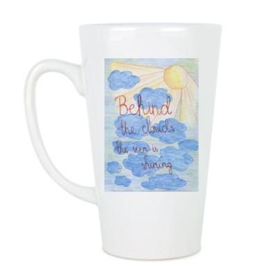 Чашка Латте 'Clouds'