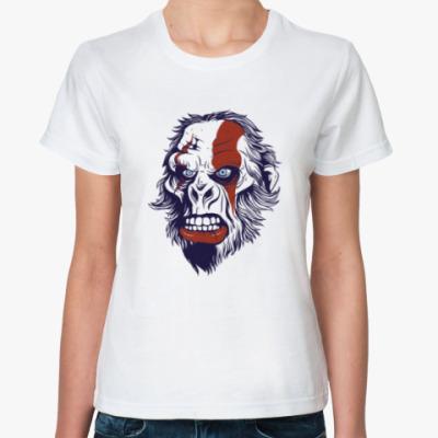 Классическая футболка зомби монстр