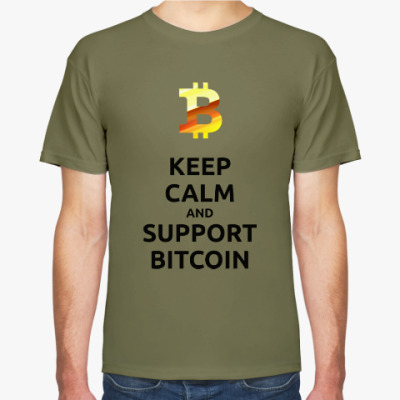 KEEP CALM and SUPPORT BITCOIN!