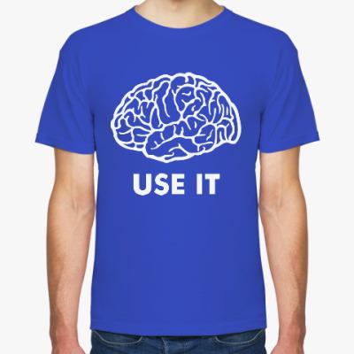 Футболка Мозг