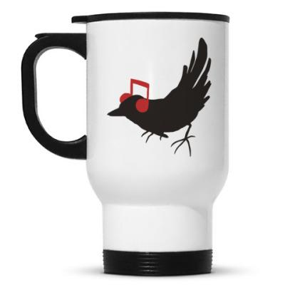Кружка-термос 'bird'