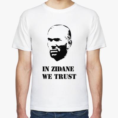 Футболка In Zidane We Trust - white