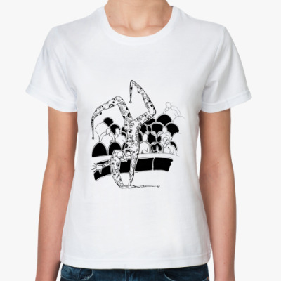 Классическая футболка  Клоун