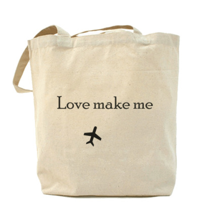 Сумка Love make me