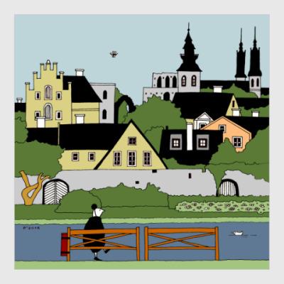 Постер Visby